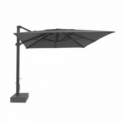 Parapluie d'extérieur, 3x4 mt avec housse en tissu de luxe - Athena par Talenti