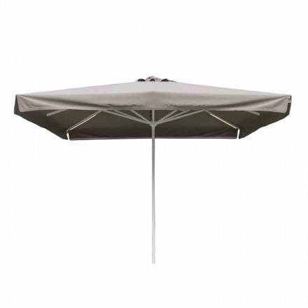 Parapluie d'extérieur en tissu avec structure métallique fabriqué en Italie - Solero
