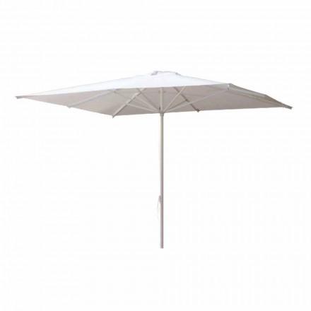 Parasol de jardin en tissu acrylique et aluminium fabriqué en Italie - Solero