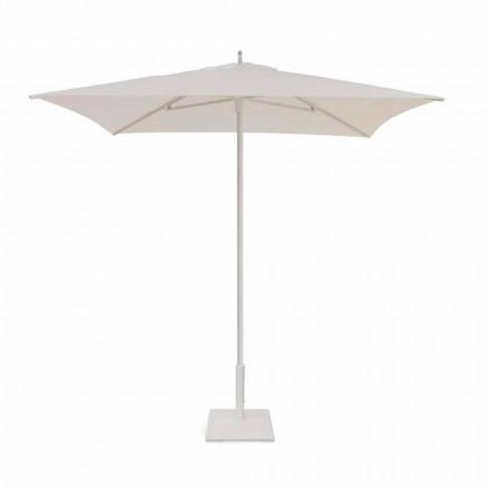 Parasol de jardin 2x2 m en tissu et aluminium moderne - Apollo par Talenti