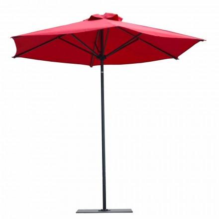 Parasol de jardin en tissu et aluminium de luxe Made in Italy - Meridio
