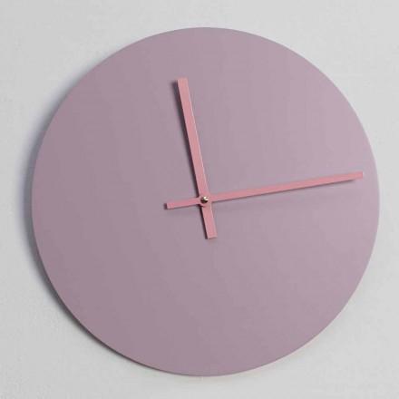Horloge murale ronde en bois Made in Italy - Imalia