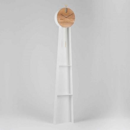 Horloge Pendule Design avec Structure en Acier Made in Italy - Pendolino