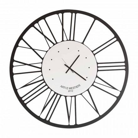 Horloge Murale Design en Fer Fabriquée en Italie - Gioele