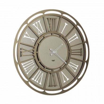 Horloge Murale Moderne en Fer Fabriquée en Italie - Classicone