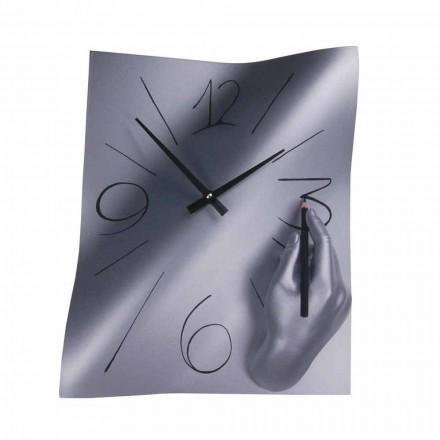 Horloge murale en résine décorée à la main Made in Italy - Libye