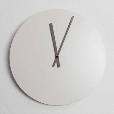 Horloge Murale Colorée Design Industriel Moderne Fabriquée en Italie - Fobos
