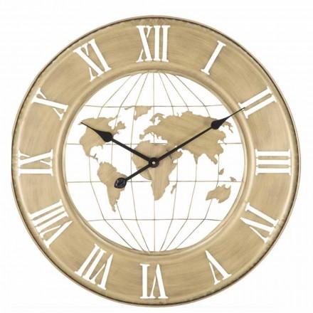 Horloge Murale Diamètre 63 cm de Design Moderne en Fer - Telma