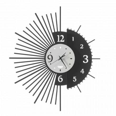 Horloge murale en fer au design élégant fabriqué en Italie - Aneto