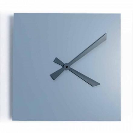 Horloge Murale Carrée Industrielle et Moderne de Design Italien - Titan