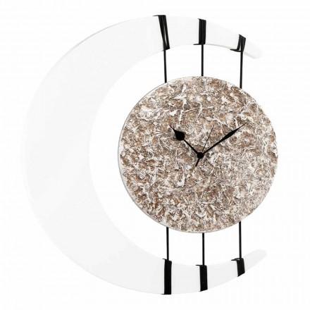 Horloge mural suspendue sur cordes de design made in Italy Jilly