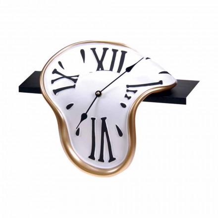 Horloge de table en résine décorée à la main Made in Italy - Corin