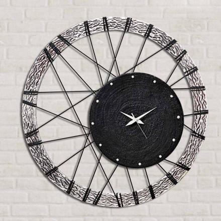 Amalfi horloge murale faite à la main en Italie 70x70 cm