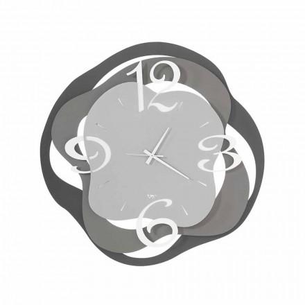 Horloge Murale Design Moderne en Fer Fabriqué en Italie - Gertrude