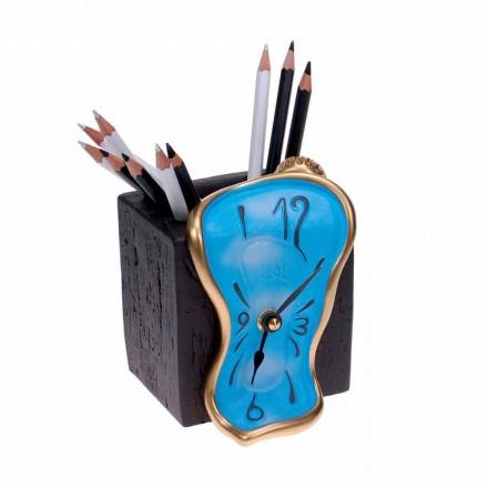 Horloge Crayon Design de Table Made in Italy - Figaro