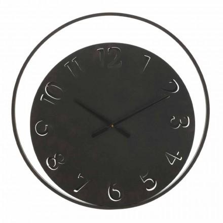 Horloge Murale Ronde Diamètre 60 cm Moderne en Fer - Beatrix