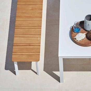 Varaschin System banc extérieur en aluminium peint design