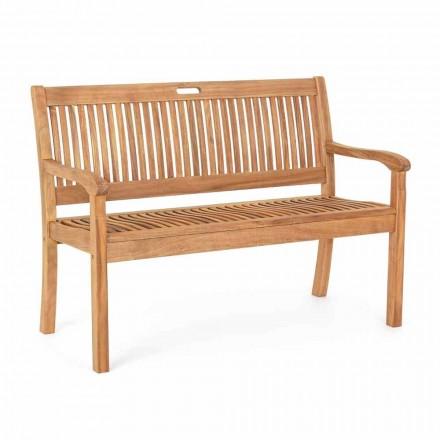 Banc de jardin en bois d'acacia pour design extérieur 2 ou 3 places - Roxen