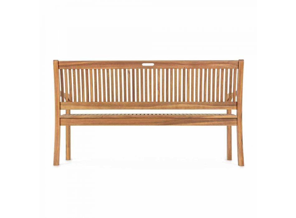 Banc de jardin en bois design extérieur 2/3 places - Roxen