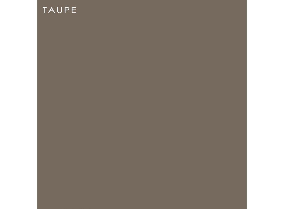 Banc de jardin en polyéthylène et bois de bouleau Made in Italy - Talula