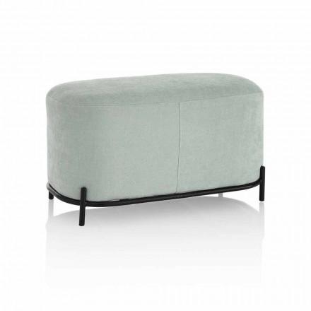Banc de salon ou de chambre à coucher en tissu design moderne - Ambrogia
