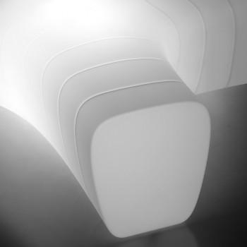 Banc de Jardin Lumineux en Polyéthylène avec LED Fabriqué en Italie - Galatea