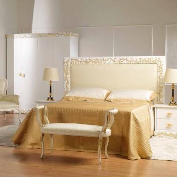 Banc Mat conception ivoire classique avec des décorations en or Tyler