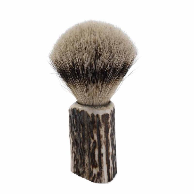 Brosse à raser en poils de blaireau fabriquée à la main en Italie - Euforia