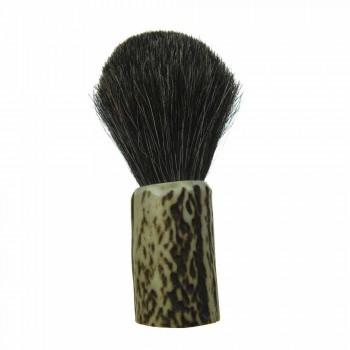 Brosse de rasage artisanale avec poils de crin Made in Italy - Euforia