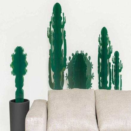 Plante ornementale en plexiglas, en différentes couleurs, H 102 cm, Braies