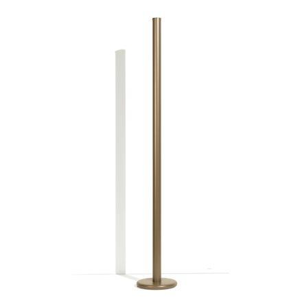 Lampadaire moderne en métal avec double éclairage Made in Italy - Roman