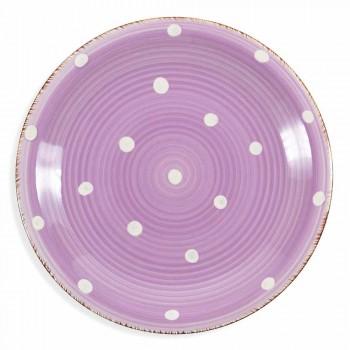 Service Assiettes En Grès Coloré Et Moderne 18 Pièces De Table Design - Mita