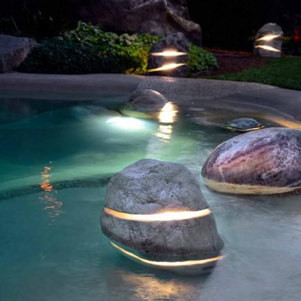 Pierre décorative lumineuse pour la plongée avec Led Twice à 2 fentes