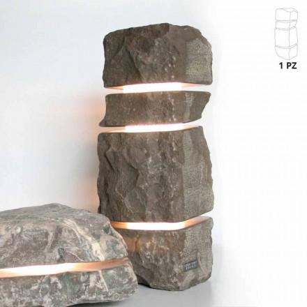 Marbre brillant Fior di Pesco Carnico avec 3 coupes Stonehenge