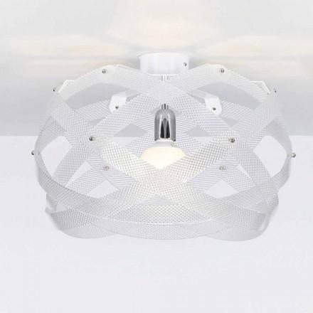 Plafonnier design moderne méthacrylate spectrall, diam. 40Cm, Vanna