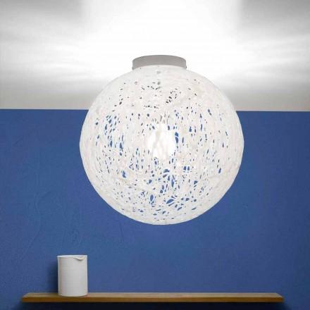 Plafonnier design moderne produit en Italie, diamètre 48cm, Mady