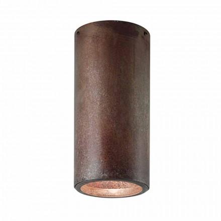 Plafonnier industriel en fer ou laiton Girasoli Il Fanale
