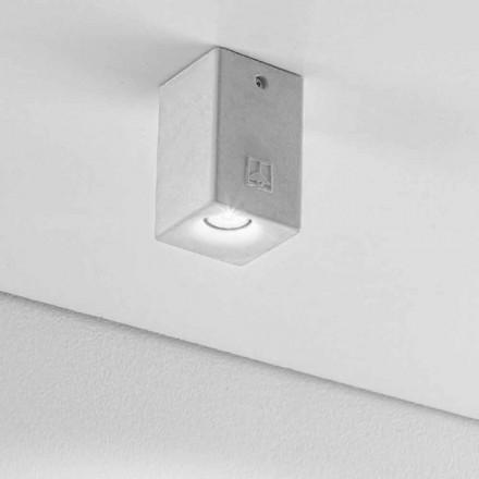 Plafonnier carré pour extérieurs avec LED Nadir 2