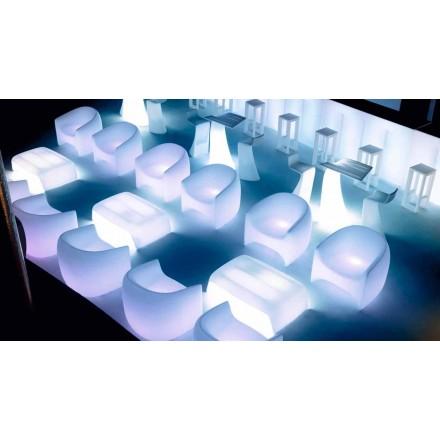 Fauteuil d'extérieur au design moderne, en résine de polyéthylène Blow by Vondom