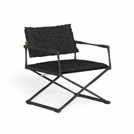 Chaise de jardin pliante en aluminium de haute qualité - Riviera par Talenti