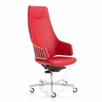 Exécutif modèle de chaise de bureau par l'italien Luxy, made in Italy