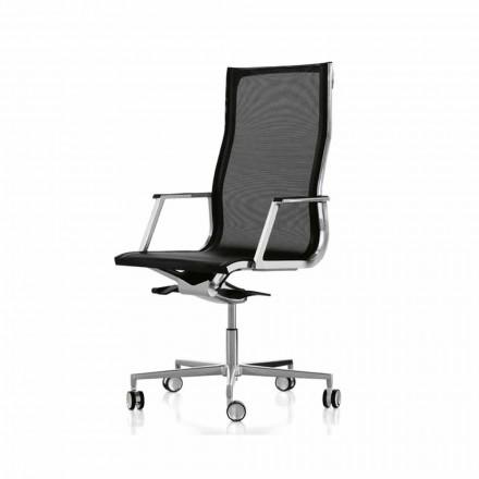 Fauteuil de bureau ergonomique haut de gamme Nulite par Luxy
