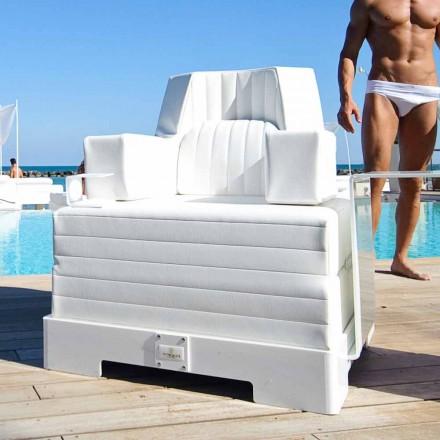 Fauteuil flottant de piscine Trona Luxury, design moderne