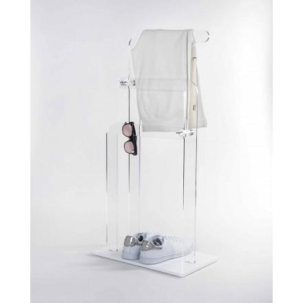 Porte-serviettes de bain en plexiglas PMMA, Zanica