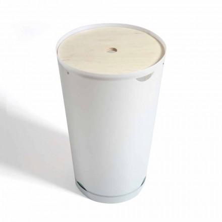 Panier à linge avec la boÎte de design moderne italien Marlis