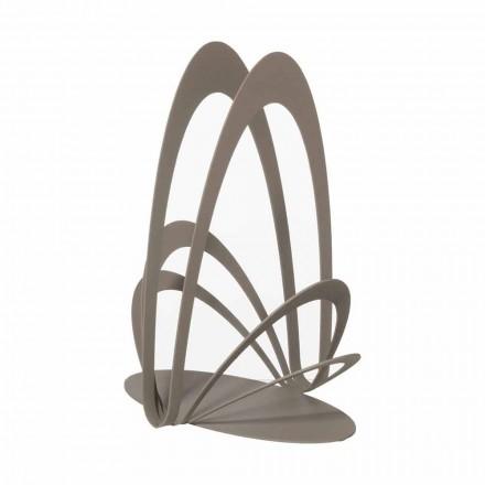Porte-gobelet en fer design fabriqué à la main, fabriqué en Italie - Futti