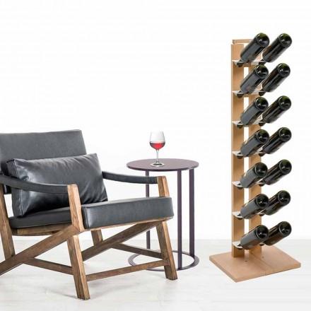 Porte-bouteilles unilatéral de design Zia Gaia