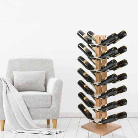 Porte-bouteilles bilatéral de design Zia Gaia