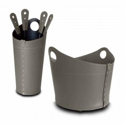 Porte-bois, porte-fer et fers pour cuir Nicad, fabriqué en Italie