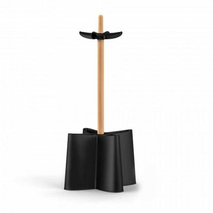 Porte-parapluie Nurri de design, en bois et polypropylène